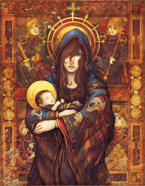 3f9f3-___madonna_and_child____by_ninebreaker