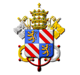 Coat of Arms of Pope Pius IX - Roman Catholic Church in England - Peter Crawford