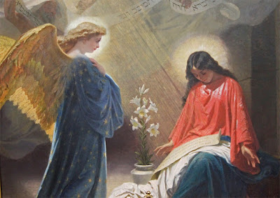 Angel and Mary